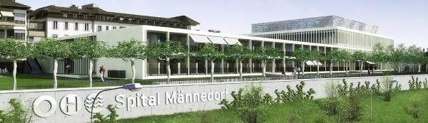 750 MitarbeiterInnen sorgen für das Wohl von jährlich 36 000 Patienten am Zürichsee