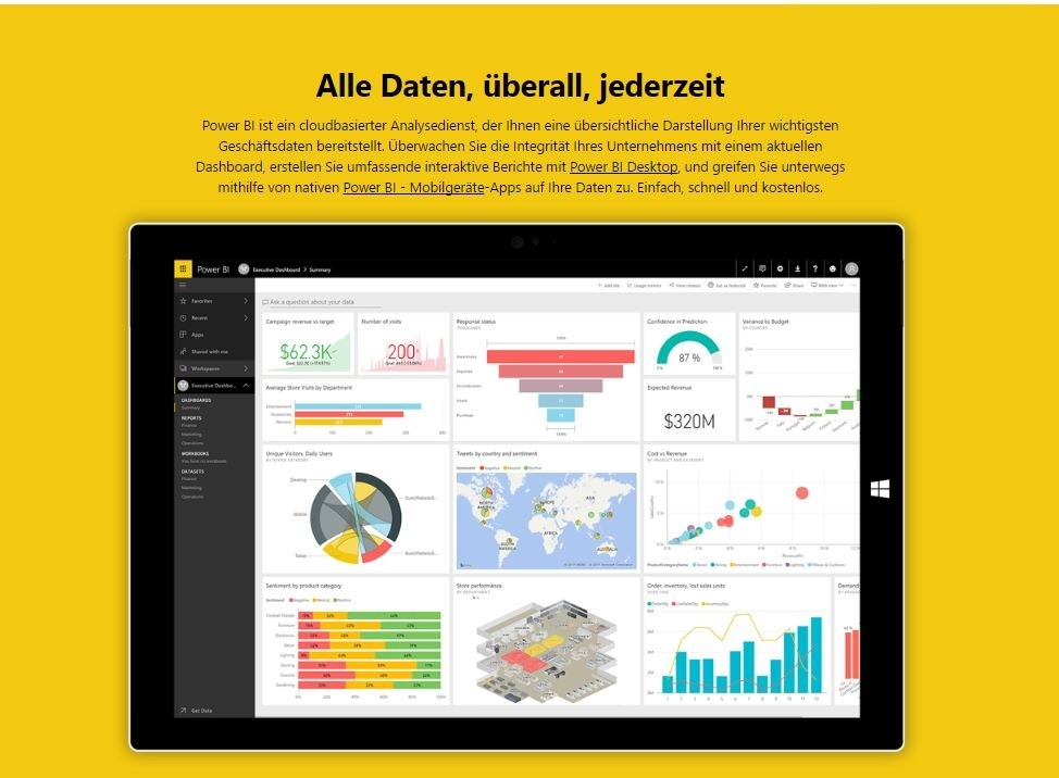 power bi microsoft cloud
