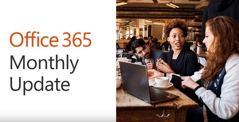 april update für office 365