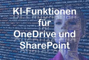ki funktionen videotranskription text in bild erkennen suche onedrive- sharepoint