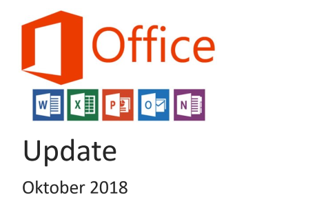 office 365 update oktober 2018