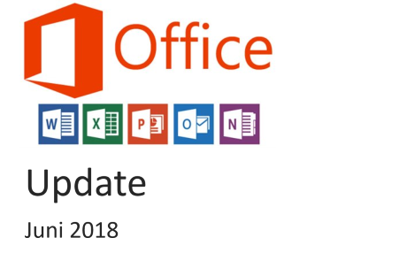 office update juni 2018