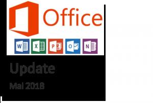 office 365 update mai 2018