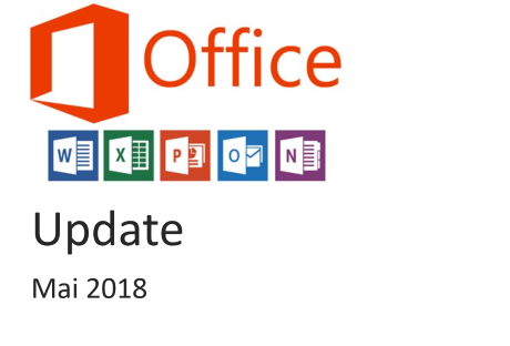 office 365 update mai 2018