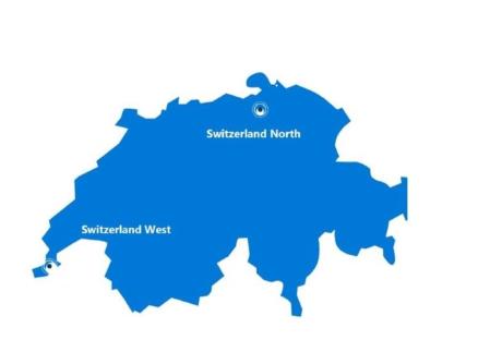 swiss cloud update Microsoft Schweiz