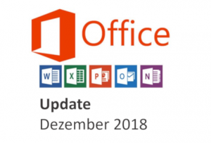 office update dezember 2018
