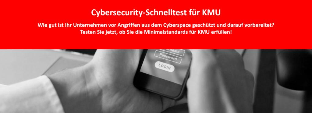 cybersecurity schnelltest kmu empfohlen von baggenstos it