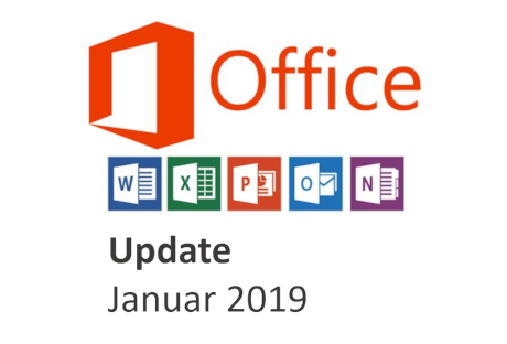 office 365 update januar 2019