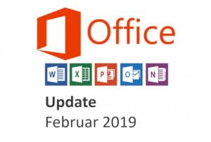 office 365 update februar 2018