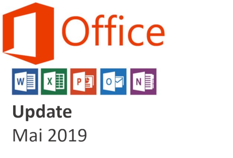 Office 365 Update Mai 2019