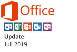office 365 update juli 2019