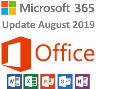 microsoft 365 update office