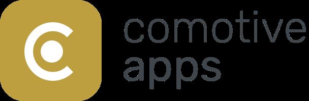 Logo comotive apps