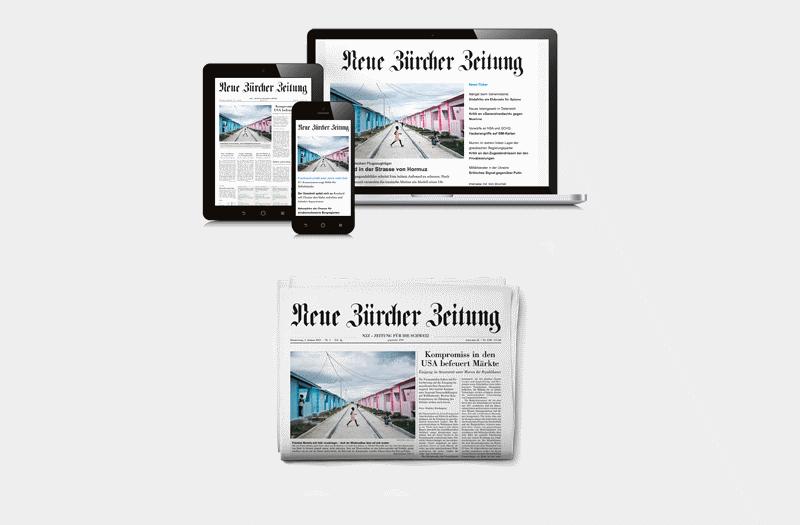 Kampagnen- und Verkaufsplattform der NZZ