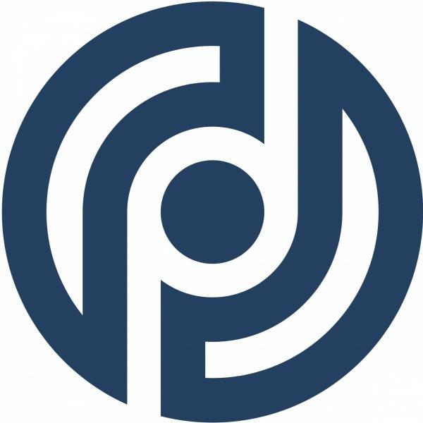 Logo: Datenschutzpartner (blau)
