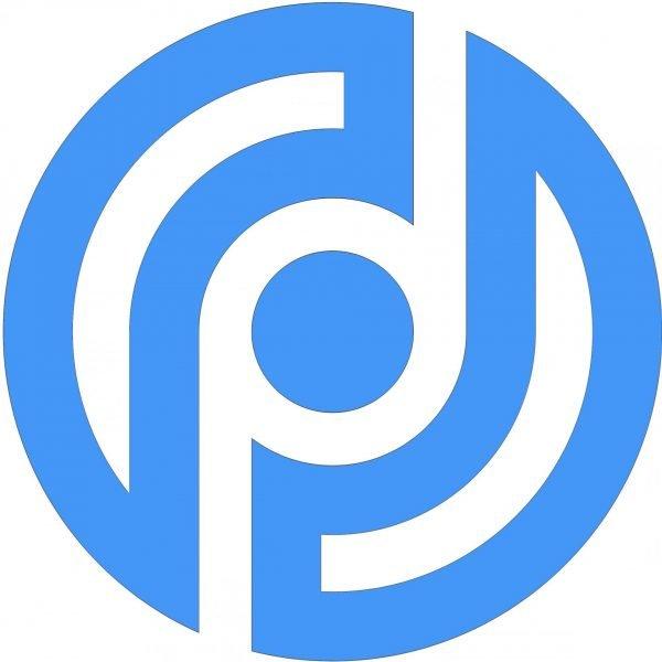 Logo: Datenschutzpartner (hellblau)