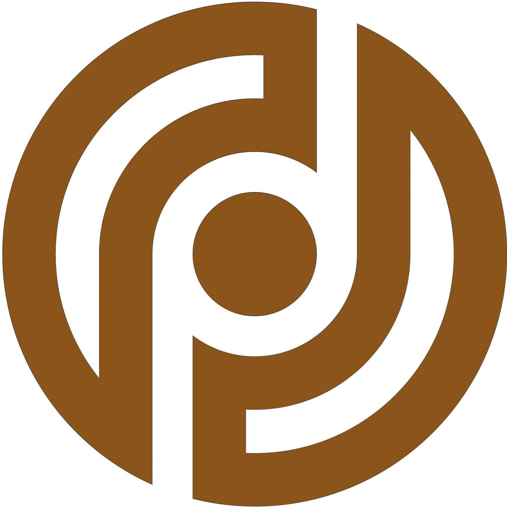 Logo: Datenschutzpartner (braun)