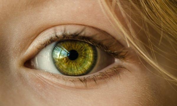 Foto: Grünes Auge