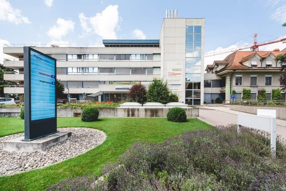 Spital Aarberg Gebäudeautomation MSRL