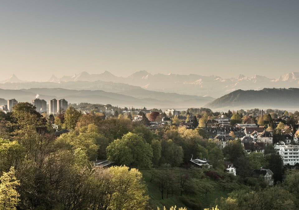 Aussicht Schönburg Berge