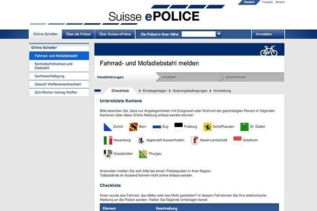 police-be-epolice-fahrraddiebstahl