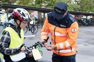 Radfahrertest im Kanton Bern