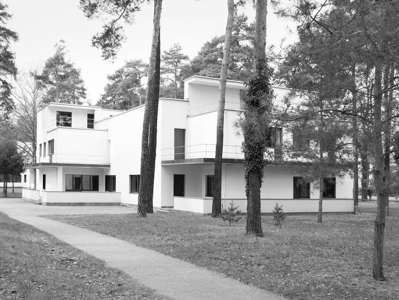 Meisterhaus Much und Schlemmer 2011, Bild schwarz weiss