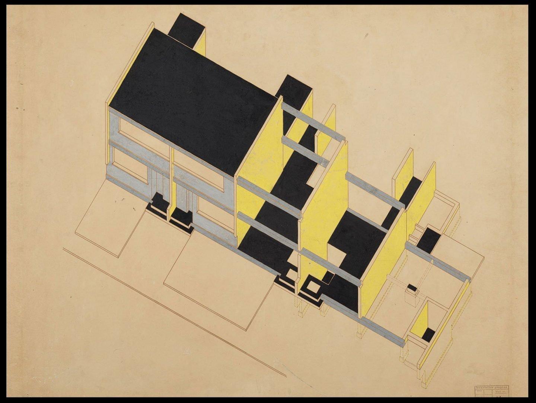 Konstruktionsschema Törten Bauatelier