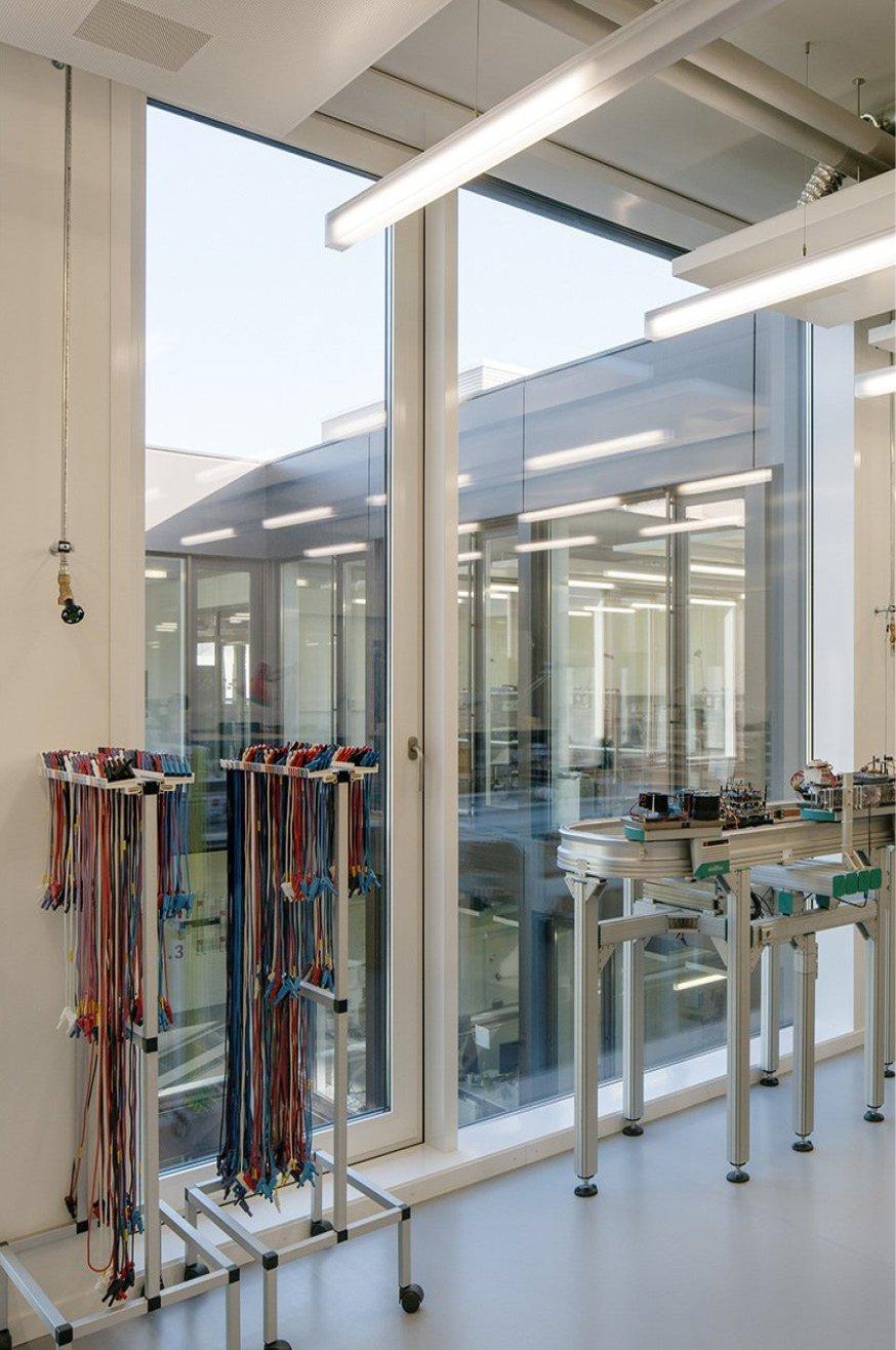 Labor im Microcity Gebäude