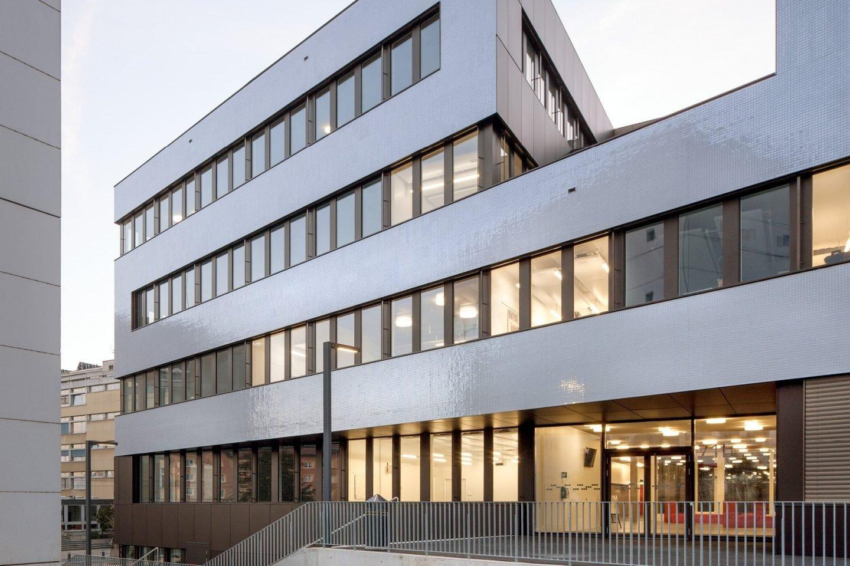 Microcity Gebäude in Neuchâtel