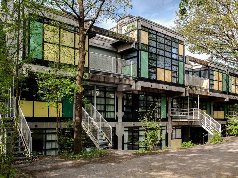 Otto Steidle Genterstrasse Fassade mit Zugängen, Bild Thomas Reisser