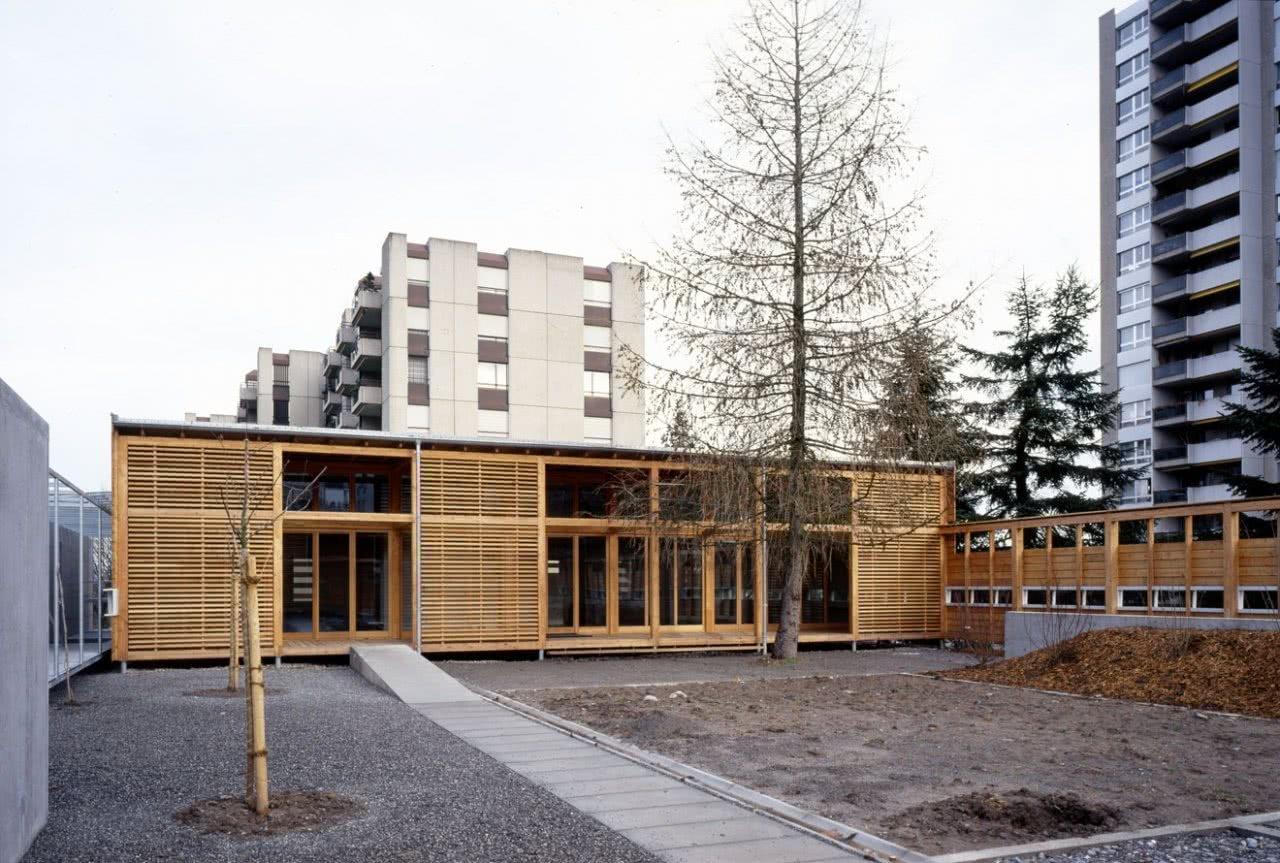 Ansicht Kindergarten Morillon