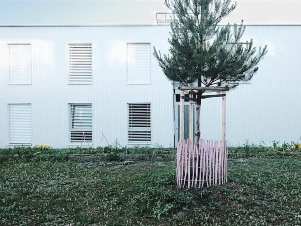 "Wohnbauprojekt ""Le Patio"""