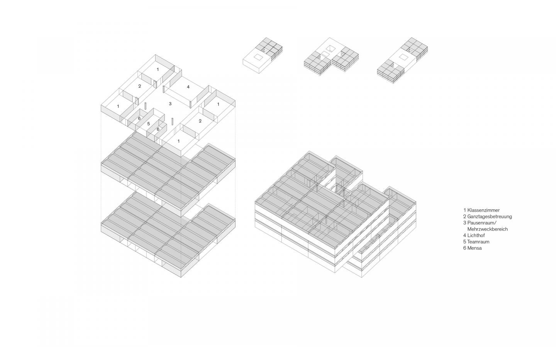 Lernhausmodul_Isometrie_ëwulfarchitekten