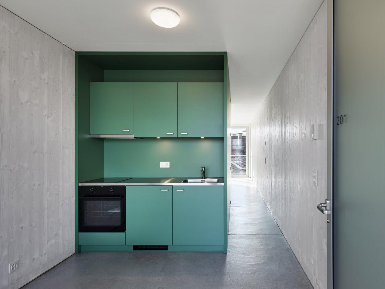 Modulbau Innenraum Küche