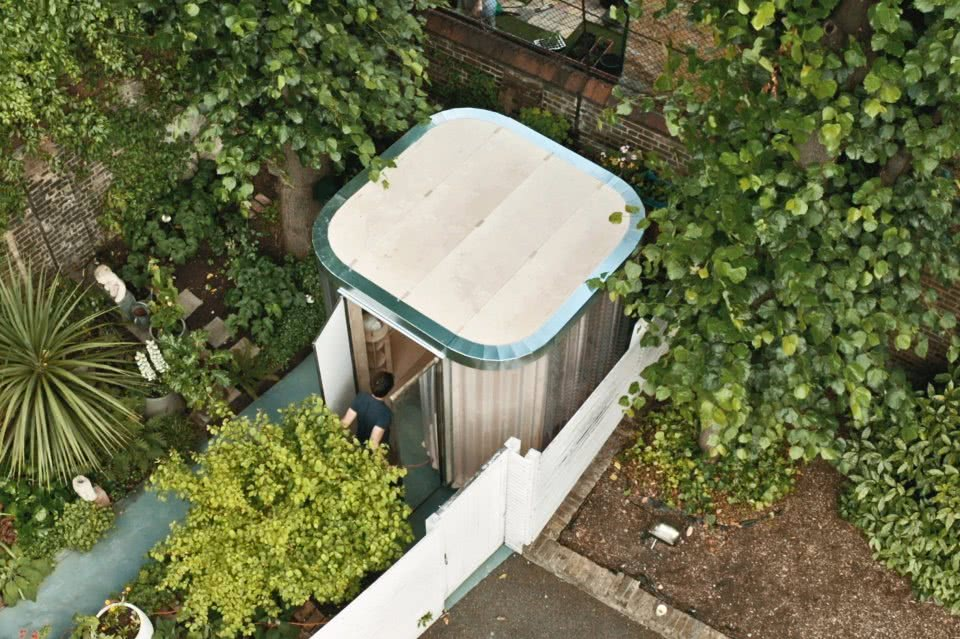 boano-prismontas Garten Haus Home Office von Aussen