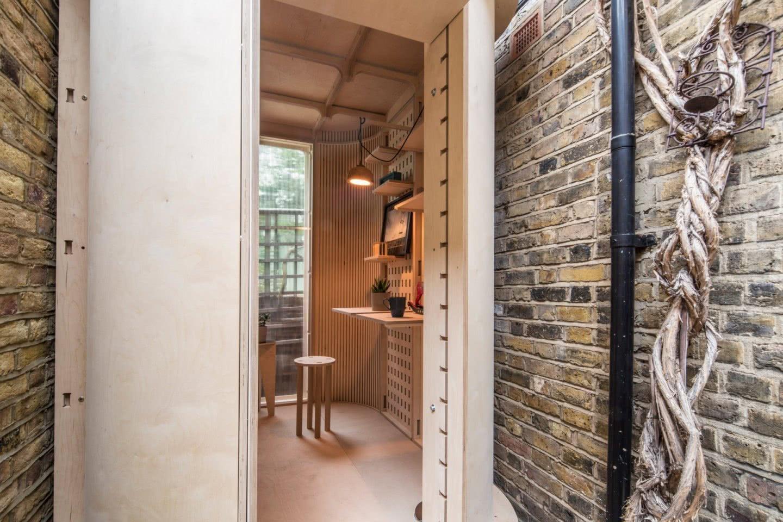 boano-prismontas Garten Haus Home Office genau eingepasst