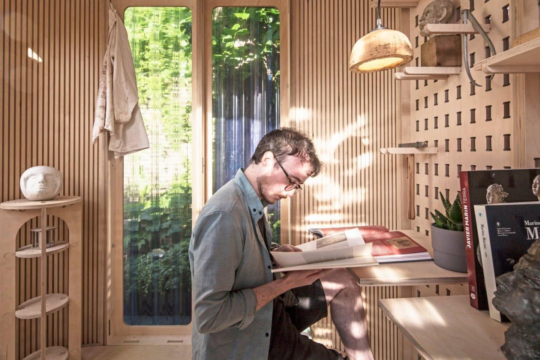 boano-prismontas Garten Haus Home Office Arbeitsplatz