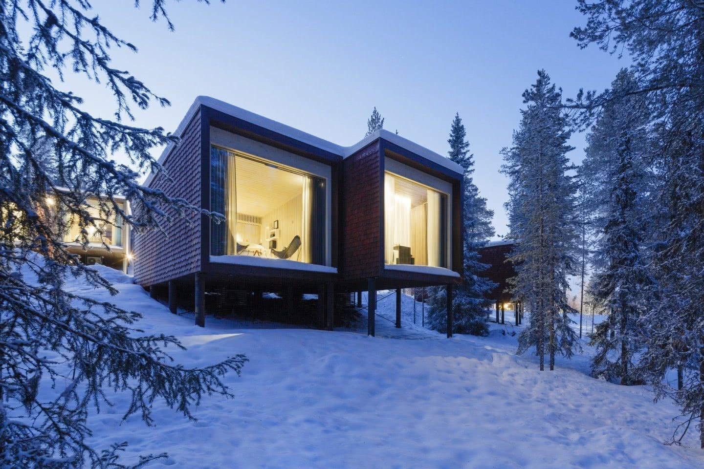 ARCTIC TREEHOUSE HOTEL_winter_Studio Puisto_photos Marc Goodwin (12)