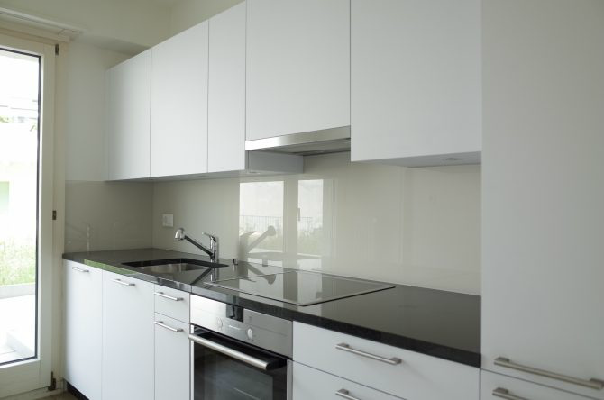 Wohnungsanpassung, Küche, richtige Anordnung der Arbeitsschritte, Waschen, Rüsten, Kochen