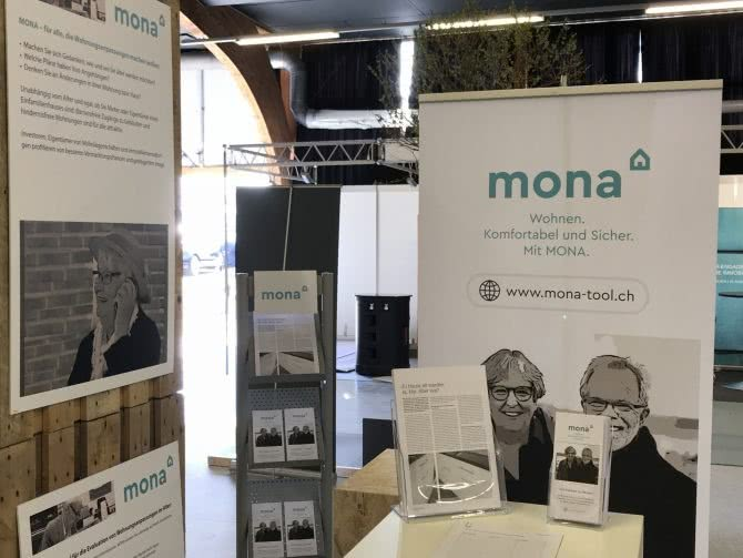 Eigenheim-Messe in Bern, MONA unterwegs