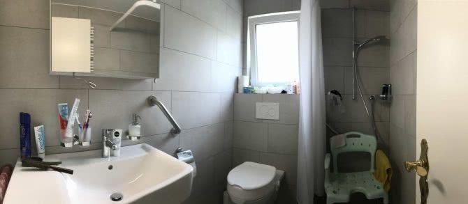 Umbau Badezimmer: Bild des fertigen Umbaus