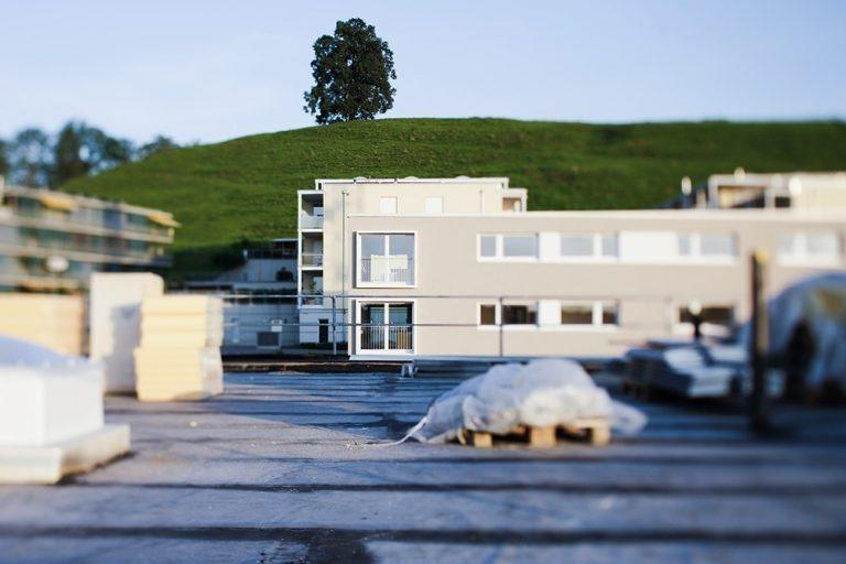 Der Traum vom Eigenheim nimmt erste Formen an.
