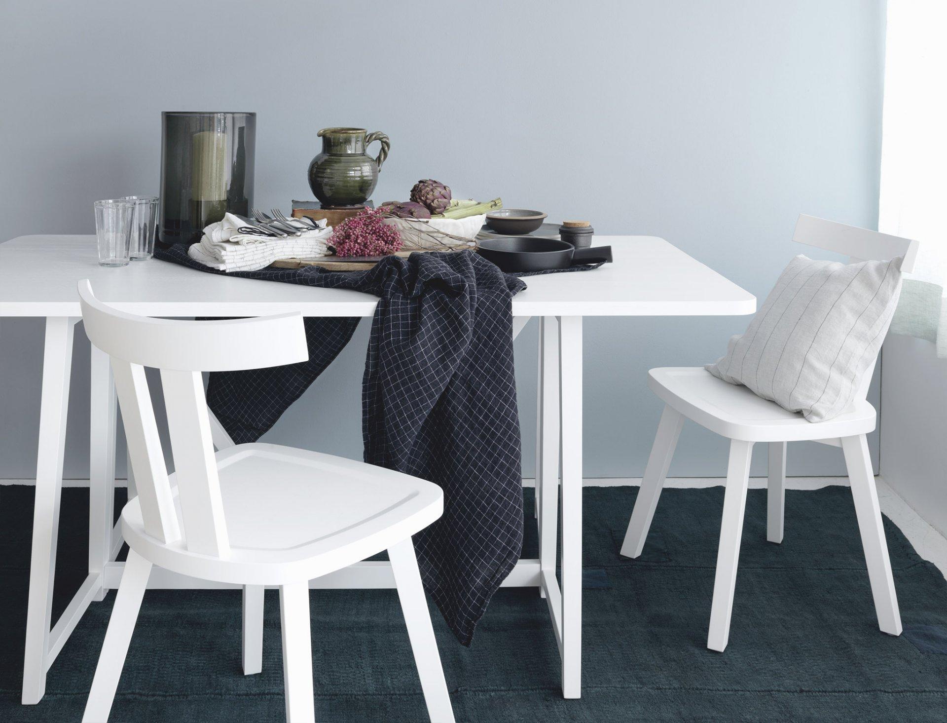 Weisse Möbel für Frische
