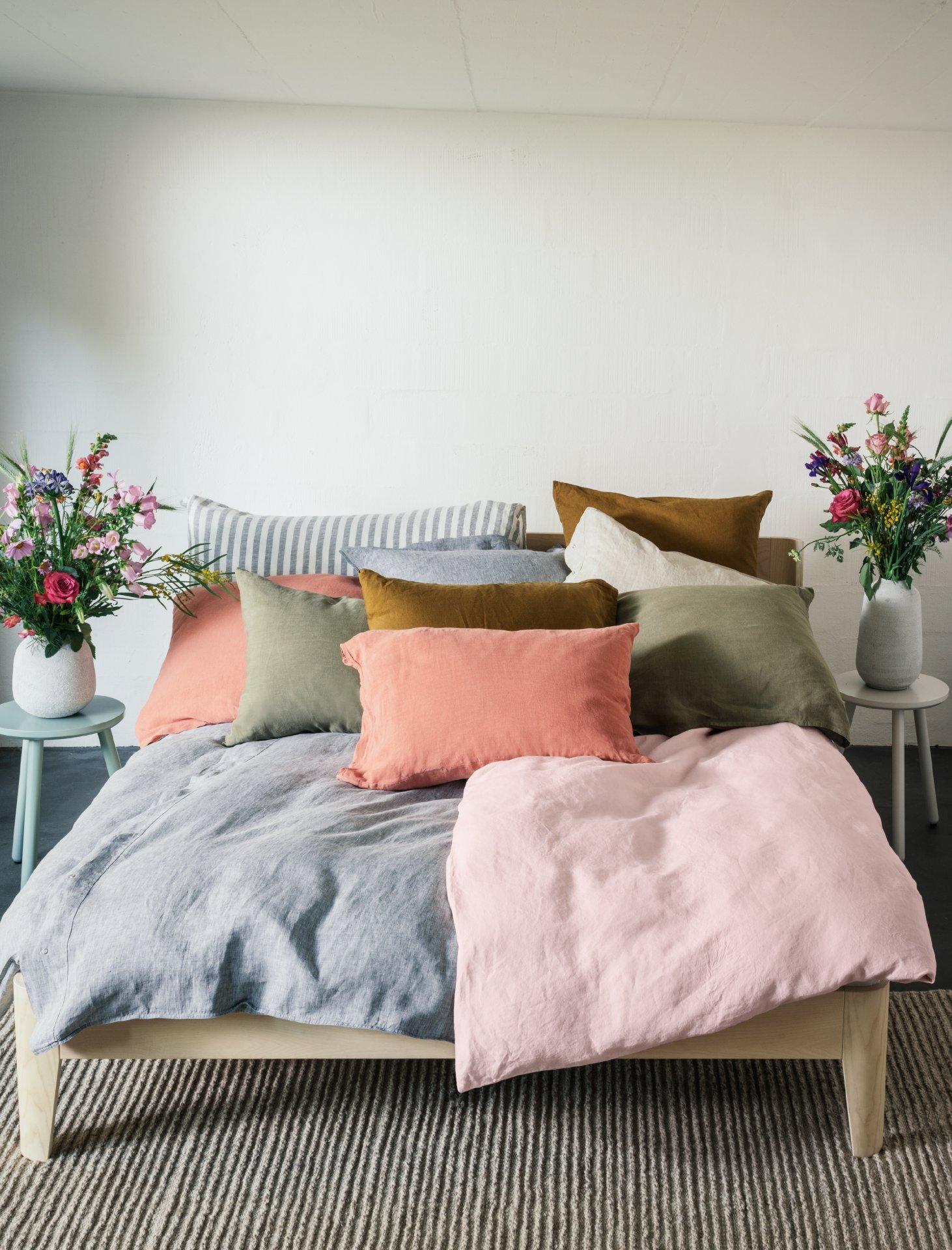 Leinenwäsche fürs Bett
