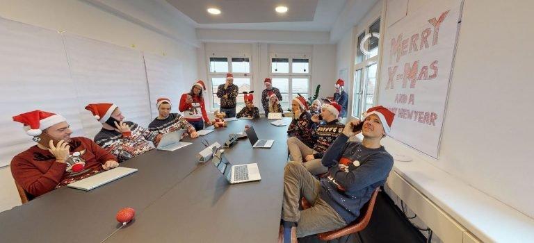 Frohe Weihnachten von newhome.ch