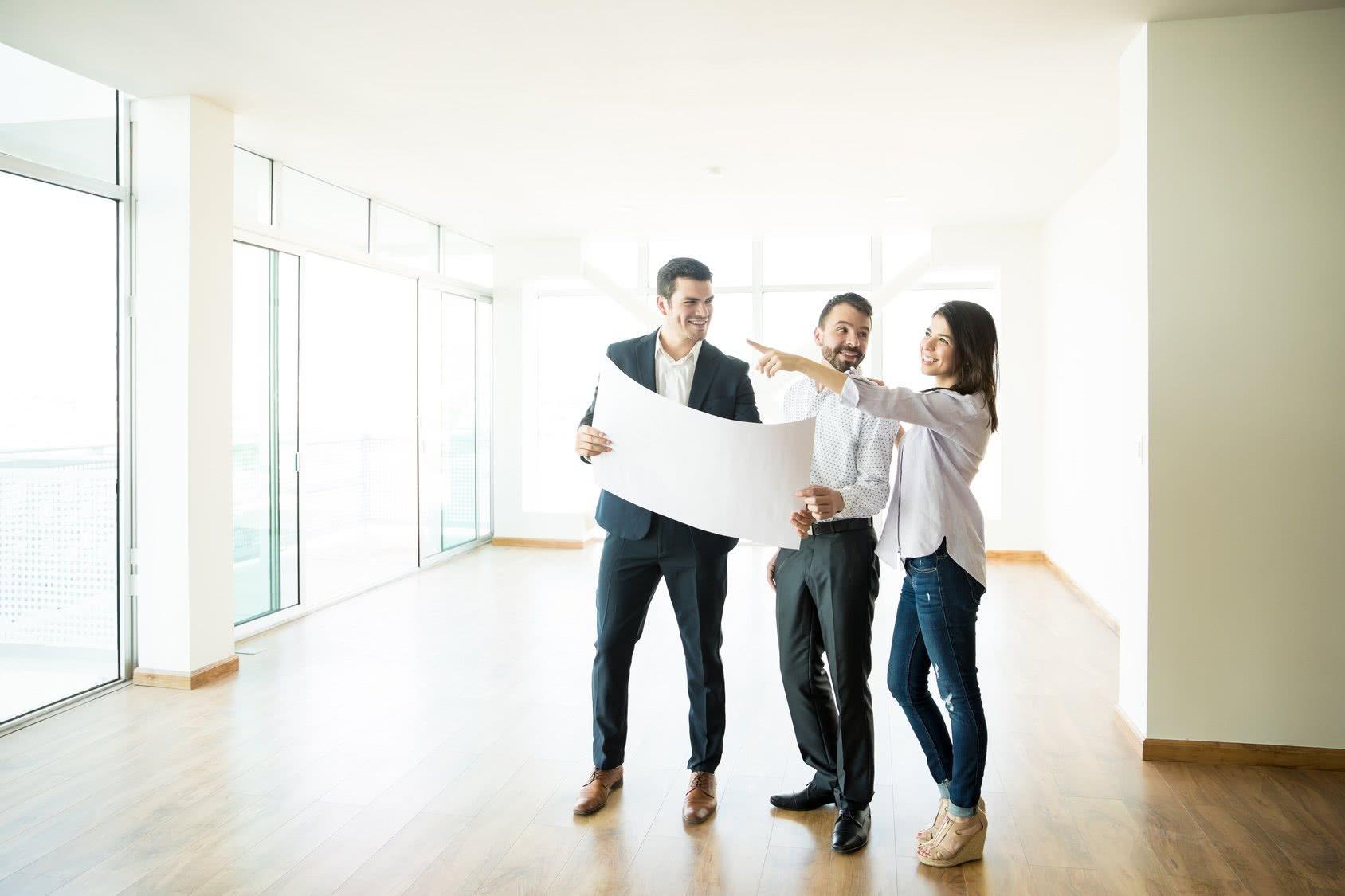 Wohnungsbewerbung