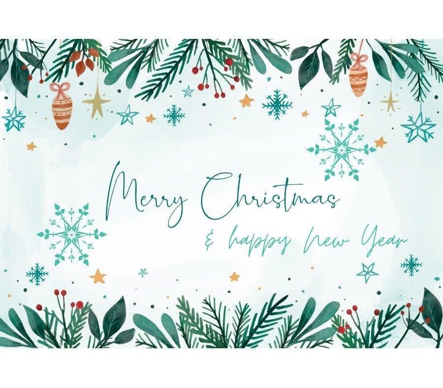 Buon Natale e auguri di un sano anno nuovo