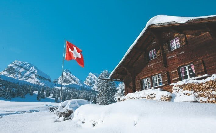 Svizzera Turismo: Uzwil, capanna CAS