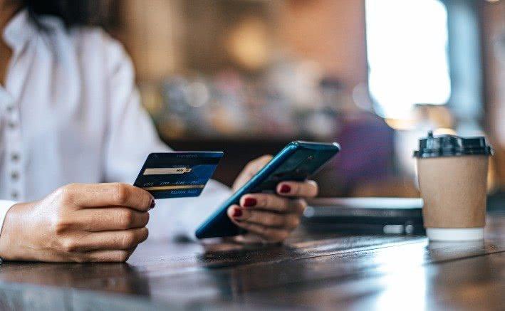 Gängiges Zahlungsmittel Kreditkarte